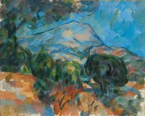 La montaña Sainte-Victoire, 1904. Cleveland Museum of Art