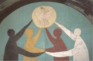 Las cuatro esquinas del mundo. Pablo Picasso, en la capilla de Vallauris (1952)