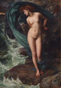 Andrómeda Edward John Poynter (1869) Colección Pérez Simón