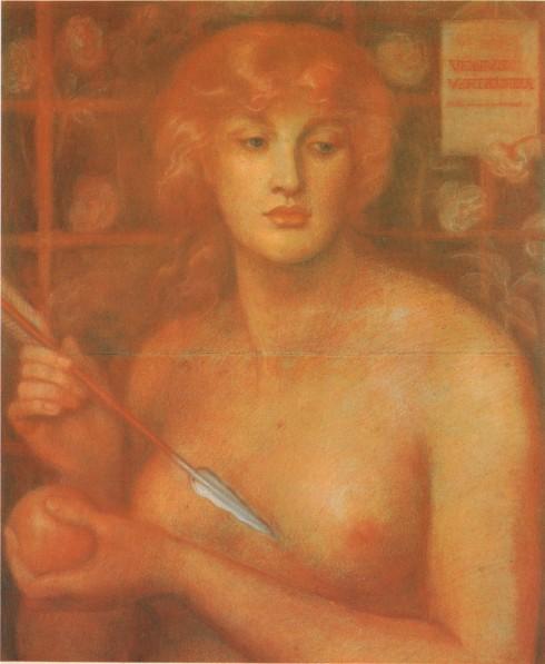Venus Verticordia Dante Gabriel Rossetti (1868) Colección Pérez-Simón