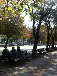 Otoño en el parque de S. Francisco (Oviedo)