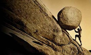 La piedra de Sísifo